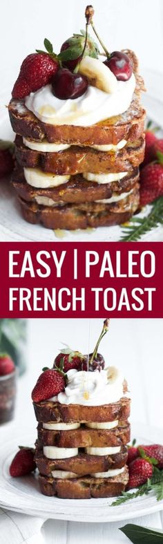 Gluten Free Paleo Banana Bread Toast