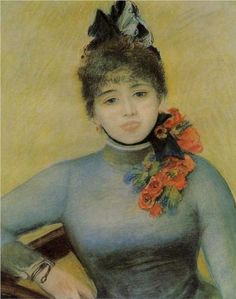 Madame Severine - Pierre-Auguste Renoir