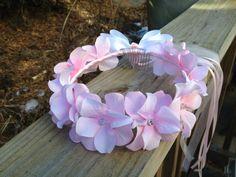 flower girl halo/crown