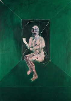 """Francis Bacon,  Study for the nurse in the film """"BATTLESHIP POTEMKIN"""", 1957"""