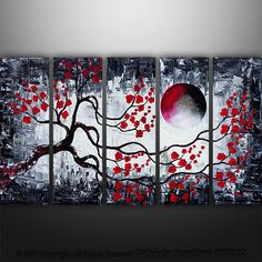 """black and white Asian """"landscape"""" - inspiration for geisha painting"""