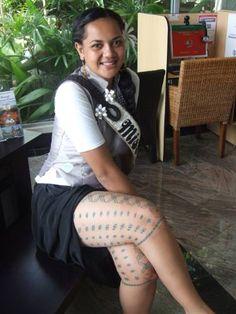 Samoan Girls Tattoo Designs