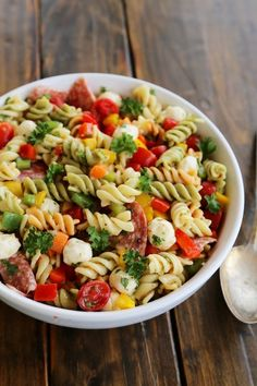 Italian Pasta Salad - very good and easy side dish