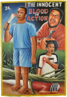 Ghananian movie posters