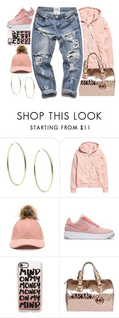 """""""D'angelo """" by b-a-b-y-g-ii-r-l ❤ liked on Polyvore featuring Michael Kors, NIKE and Casetify"""
