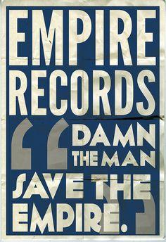 """""""damn the man save the empire."""" by Garret Steider, via Flickr"""