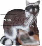 Leitold Target WaschbÀr 3d Targets, Cats, Animals, Gatos, Animales, Kitty Cats, Animaux, Animal Memes, Cat Breeds