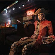 Fallout 4 - John Hancock by ant42onia