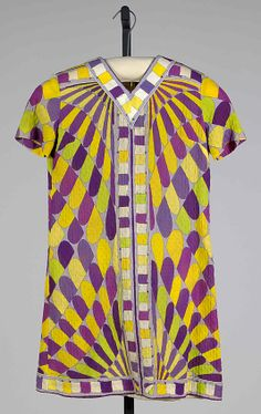 Emilio Pucci Dress 1968 Cotton