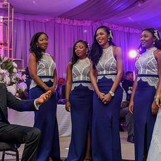 "20 Likes, 1 Comments - The Wedding Channel Nigeria (@theweddingchannelng) on Instagram: ""This is so gorg  love the bridesmaid dresses #theweddingchannel #maidscrushmonday #MCM…"""