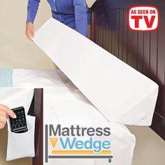 Mattress Wedge™   Problem Solvers - As Seen On TV   FreshFinds.com