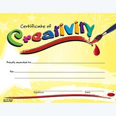 ... on Pinterest | Award certificates, Free printable certificates and Art
