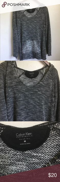Calvin Klein pullover Authentic Calvin Klein performance pull over. Pre owned, great condition. Calvin Klein Sweaters Crew & Scoop Necks