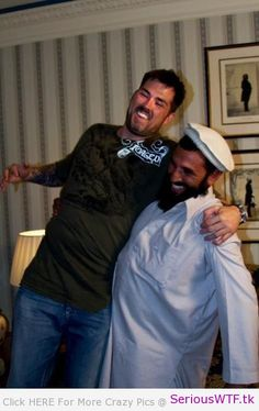 """Former Navy SEAL Marcus Luttrell With His Friend Mohammad Gulab,. """"Lone Survivor"""" excellent, the man who saved Marcus. Danny Dietz, Military Veterans, Military Life, Military History, Military Humor, Military Art, Marcus Luttrell, Chris Kyle, Jack Kirby"""