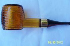 Avon Corncob Pipe Empty Spicy Aftershave Decanter Bottle Vintage