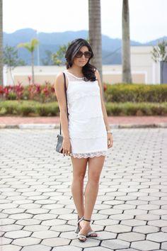 look vestido em camadas moda fashion sandália étnica preto e branco borboletas na carteira-2