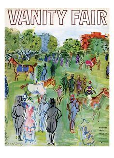 Raoul Dufy - 1934 Vanity Fair cover