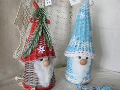 Фотография Sun Paper, Newspaper Art, Wicker, Diy And Crafts, Weaving, Basket, Christmas Ornaments, Holiday Decor, Creative