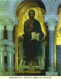 Mikhail Vrubel. Christ. Olga's Gallery.