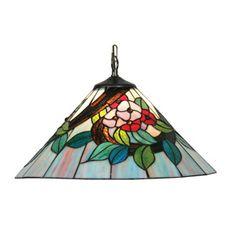 Oaks OT 2118/16 P Belle 1 light Tiffany Ceiling Pendant http://www.scotlightdirect.co.uk/oaks-ot-2118-16-p-belle-1/p15278