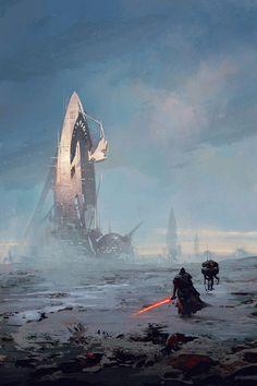 Solo Mission – Star Wars fan art by Hristo Chukov Vader Star Wars, Star Wars Rpg, Star Trek, Darth Vader, Star Wars Concept Art, Star Wars Fan Art, Carte Star Wars, Starwars, Nerd