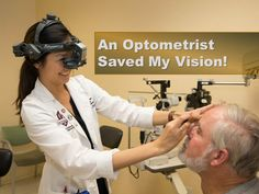 An Optometrist Saved My Vision! Southern California Colleges, Optometry, Interview Questions, Save Me, Presentation, Parenting, Student, Artificial Intelligence, Eye