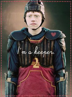 Happy Early Valentine's Day to all the Ron Weasley fans out there!