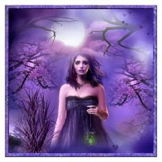 """moonlight"" by rachidadada ❤ liked on Polyvore featuring art"