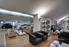 Beatiful car showroom located in Dortmund, Germany | Home Design Ideas
