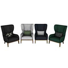 Leo 4 Sims: Padova Bergere armchair • Sims 4 Downloads