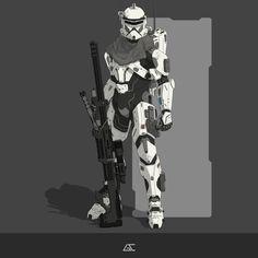 Star Wars Characters Pictures, Star Wars Images, Fantasy Warrior, Sci Fi Fantasy, Star Wars Clone Wars, Star Wars Art, Halo Armor, Future Soldier, Star Wars Wallpaper