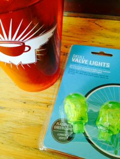 cool new skull valve lights with motion activated flashing led - in boise and nampa! www.flyingmcoffee.com