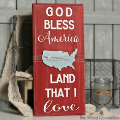 God Bless America   The Wood Connection