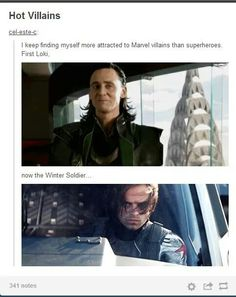 Well... The Winter Soldier is not a villain