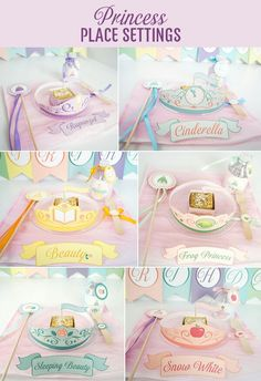 Princess party- super cute for tea party or play date! :)