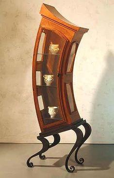 Alice in wonderland inspired cabinet.
