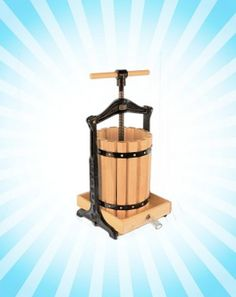 Cool off with a freshly pressed drink from our Yakima fruit press! The price is marked WAY down for our summer sale while supplies last!