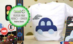 Fastfesta para menino - camiseta - Valéria Souza