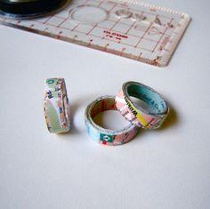 Ringe aus Papier basteln mit Kindern