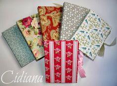 Cuadernos de notas cartonaje