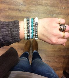 Accessories are the finishing touch to an outfit! Share with your friends and family to help them find the perfect gift for you! 💕 #xoxoAL4You #aotd #bracelets #rings #stackables #shoplocal #apricotlane http://form.jotform.us/form/52044697810154
