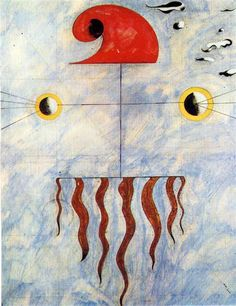 Head of a Man - Joan Miro - WikiArt.org