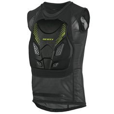 Scott SOFTCON Vest (BLK) *LEATT Compatible* SAS-TEC