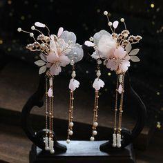Fancy Jewellery, Fancy Earrings, Jewelry Design Earrings, Ear Jewelry, Cute Jewelry, Bridal Jewelry, Jewelery, Kawaii Accessories, Jewelry Accessories