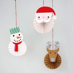 Be Jolly Five Pinwheel Hanging Christmas Decorations Christmas | Little Citizens Boutique