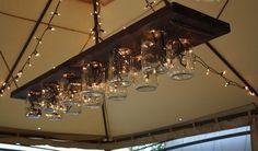 Weckglas - Kronleuchter via Mary Janes & Galoshes