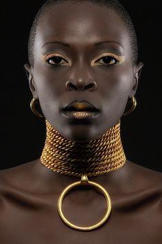 African Queen Art Print by Maurice De Vries Black Art, Black Women Art, Beautiful Black Women, Black Girls, Beautiful Eyes, Beautiful Pictures, African Queen, African Beauty, African Art