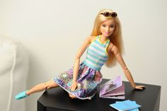 Use these free sewing patterns to create a budget-friendly wardrobe for Barbie and other fashion dolls on your own or by teaching a child to sew.