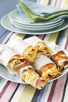 Perfekt mat att ta med sig på en utflykt eller träning #mellanmå(l #pannkakor #nyttigt