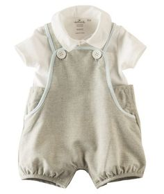 5208934e820 Little Lad Overall and Top SetLittle Lad Overall and Top Set Baby Boy  Baptism Outfit